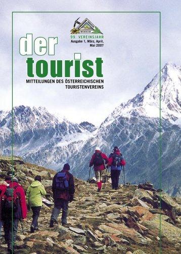 1/März 2007 - Österreichischen Touristenverein