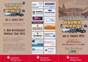 4. August 2013 - Bad Berleburg