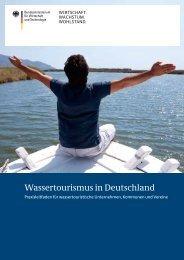 Praxisleitfaden - Wassertourismus in Deutschland