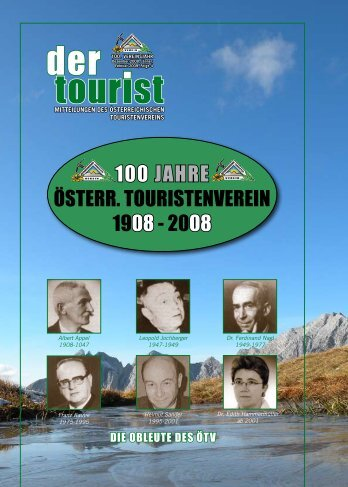 4/Dezember 2008 & 100 Jahre Festschrift - Österreichischer ...