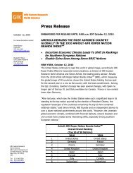 Pdf file of the press release - GfK
