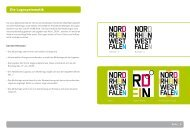 Die Logosystematik - Tourismus NRW