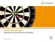 Zielgruppenhandbuch zum Download - Tourismus NRW