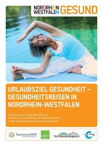 Urlaubsziel Gesundheit – Gesundheitsreisen in ... - Tourismus NRW