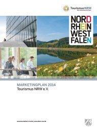 Marketingplan 2014 Tourismus NRW e. V.