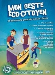 Morbihan/ Le magazine du conseiL généraL - éco-citoyens 56