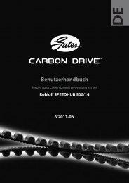 Benutzerhandbuch Gates Carbon Drive in ... - Tout Terrain