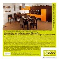 Concocter sa cuisine avec SOcoo'c : - Franchise Habitat