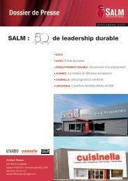dossier de presse SALM - Toute la franchise