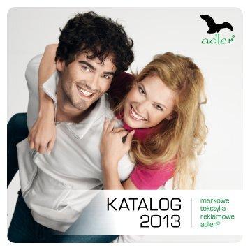 KATALOG 2013 - Adler