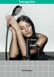 Hansgrohe - Showers and taps - ASC Info