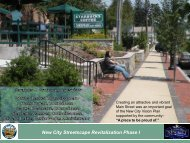 New City Streetscape Revitalization Phase I - Town of Clarkstown