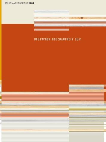 Katalog Deutscher Holzbaupreis 2011