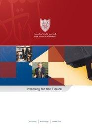 Learning Knowledge Leadership - Dubai School of Government
