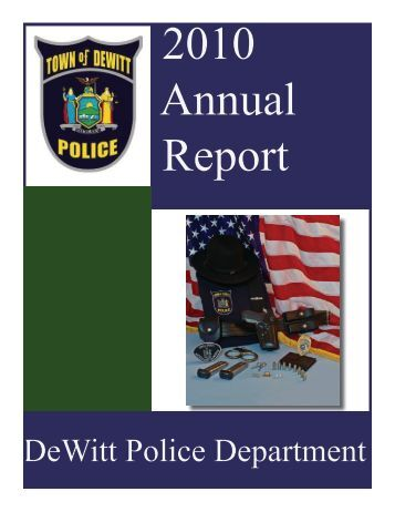 2010 Annual Report - Police
