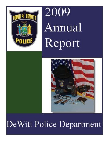 2009 Annual Report - Police