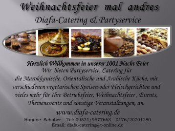 Weihnachtsfeier mal andres