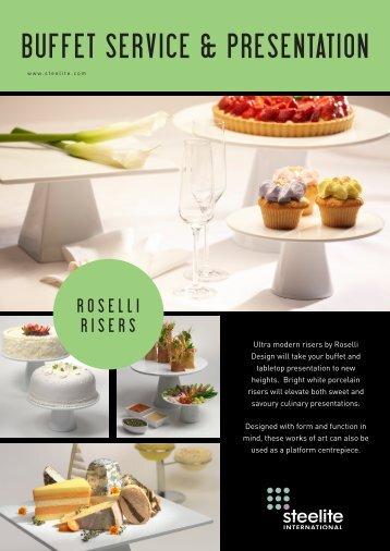 BUFFET SERVICE & PRESENTATION - Culina