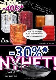 Lys opp bordene i høstmørket! 100% gjennomfargede ... - Culina