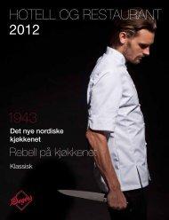 HOTELL OG RESTAURANT 2012 - Culina