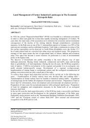 Land Management of Former Industrial Landscapes in The - FIG