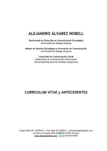 alejandro álvarez nobell - Revista Latina de Comunicación Social