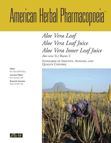 Aloe Vera Leaf Juice - Cosmesi.it