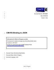 CIM-RS Binding to JSON - DMTF