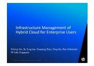 Infrastructure Management of Hybrid Cloud for Enterprise ... - DMTF