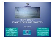 TERNA ENERGY ISLAND & OFFSHORE PROJECTS