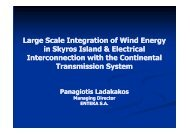 Large Scale Integration of Wind Energy in Skyros Island & Electrical ...