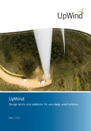 Design limits and solutions for very large wind turbines
