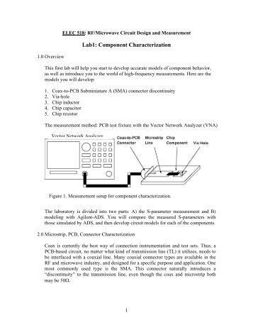 Lab1: Component Characterization