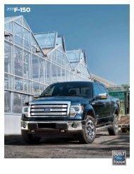 2013 Ford F-150 Brochure - Clickmotive