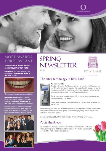 Bow Lane NL - Bow Lane Dental Group