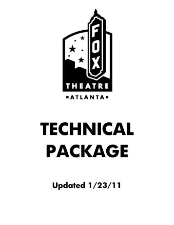 Technical Theatre Terms