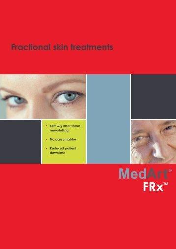 Fractional skin treatments