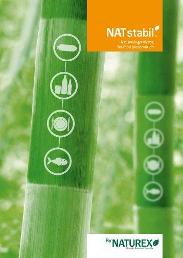 Natural ingredients for food preservation - Naturex