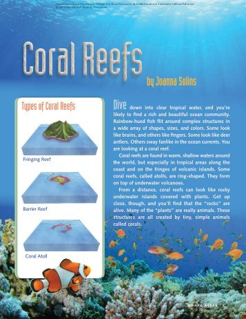 Coral Reefs - International Reading Association