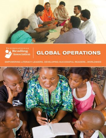 IRA Global Operations Brochure - International Reading Association