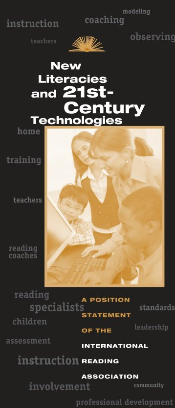 New Literacies and 21st-Century Technologies position statement