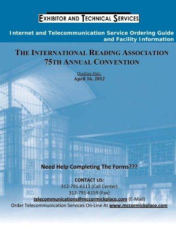 internet service - International Reading Association
