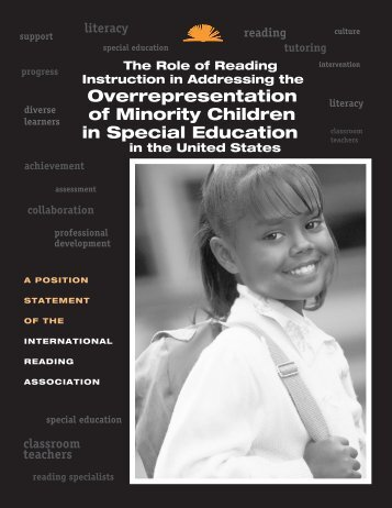 Overrepresentation of Minority Children in Special Education