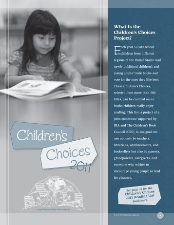 Children's Choices • 2011 - International Reading Association