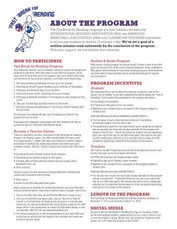 rules - International Reading Association