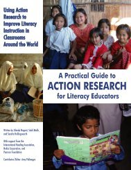 A Practical Guide to Action Research for Literacy Educators