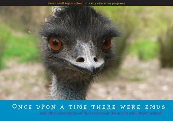 Once upon a time there were emus - Backwrite