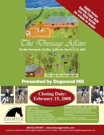 KP Events: The Dressage Affaire - Show Premium