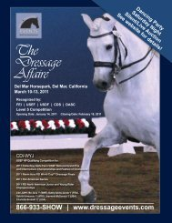 The Dressage Affaire