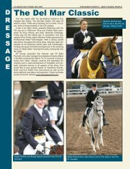 Del Mar Classic Special - Dressage Affaire